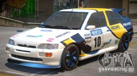 Ford Escort RS PJ4 для GTA 4