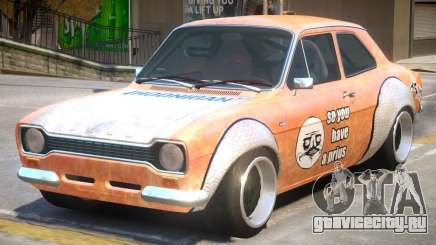 Ford Escort Rust Rod для GTA 4