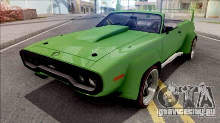 Plymouth GTX 1972 Cabrio Custom для GTA San Andreas