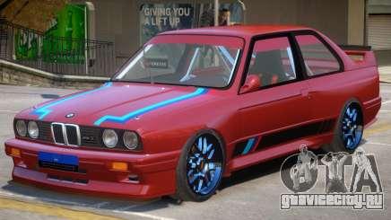 1990 BMW M3 PJ для GTA 4