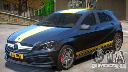 Mersedes Benz A45 V1 PJ6 для GTA 4