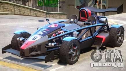 Ariel Atom V8 PJ10 для GTA 4