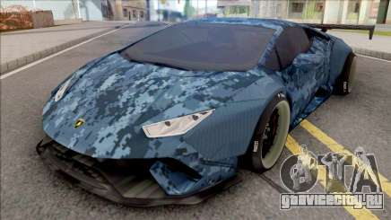Lamborghini Huracan Performante Blue для GTA San Andreas