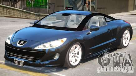 Peugeot RCZ V1.1 для GTA 4