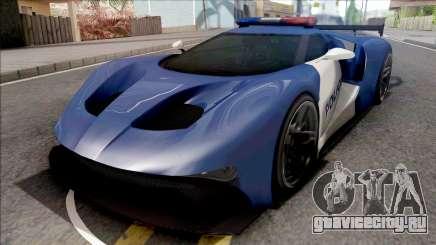 Vapid FMJ Police для GTA San Andreas