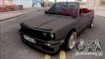 BMW 3-er E30 Cabrio для GTA San Andreas