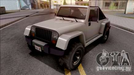 GTA V Canis Mesa Grande IVF Style для GTA San Andreas