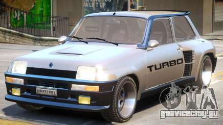 Renault 5 Turbo No ENB для GTA 4