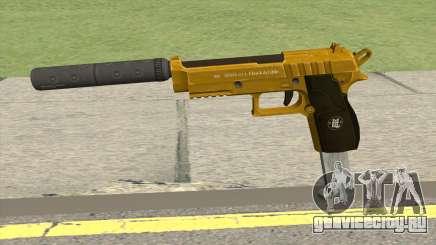 Hawk And Little Pistol GTA V (Gold) V7 для GTA San Andreas