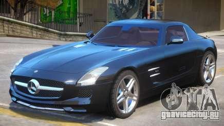Mercedes Benz SLS AMG V2 для GTA 4