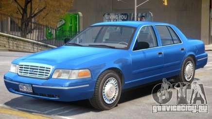 1998 Ford Crown Victoria V1 для GTA 4