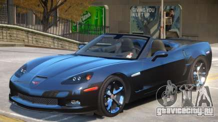 Chevrolet Corvette C6 Roadster для GTA 4