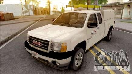 GMC Sierra 2009 Dillimore Telephone Company для GTA San Andreas