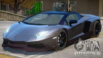 Lamborghini Aventador Anniversary Roadster для GTA 4