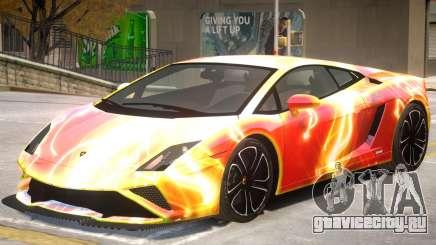 Lamborghini Gallardo V2 PJ3 для GTA 4