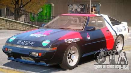 1986 Mitsubishi Starion PJ1 для GTA 4