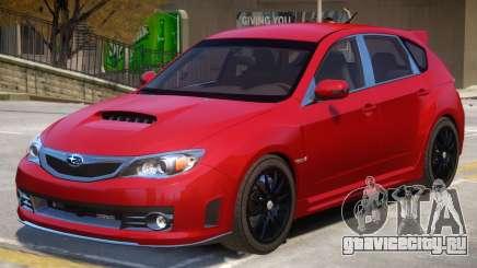 Subaru Impreza STI V2 для GTA 4