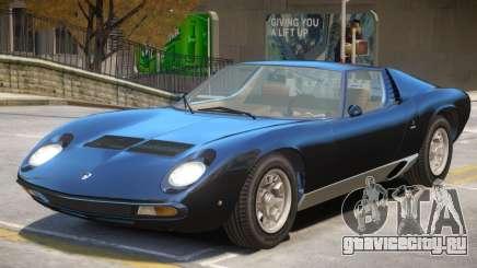 1971 Lamborghini Miura V1 для GTA 4