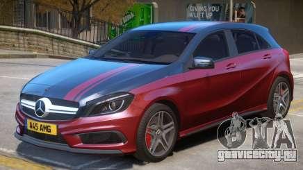Mersedes Benz A45 V1 PJ8 для GTA 4