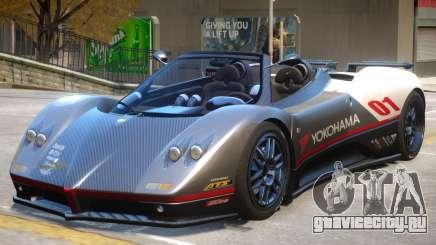 Pagani Zonda C12S V1.3 для GTA 4