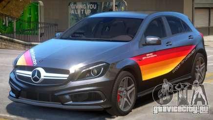Mersedes Benz A45 PJ2 для GTA 4