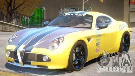 Alfa Romeo Competizione PJ для GTA 4