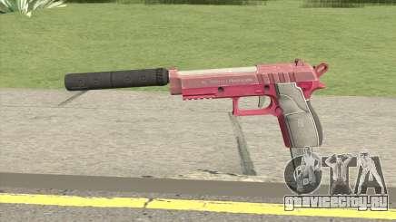 Hawk And Little Pistol GTA V (Pink) V7 для GTA San Andreas