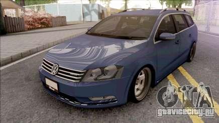 Volkswagen Passat B7 Alltrack для GTA San Andreas