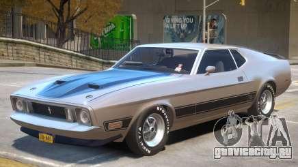 1973 Ford Mustang R1 для GTA 4