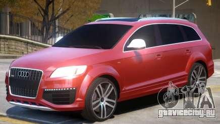 Audi Q7 TDI для GTA 4