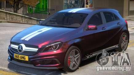 Mersedes Benz A45 V1 PJ10 для GTA 4