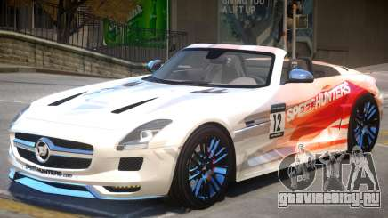 Mercedes Benz SLS Rodster PJ3 для GTA 4