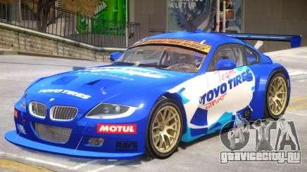 BMW Z4 Toyo Tires Edition для GTA 4
