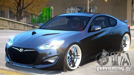 Hyundai Genesis V1 для GTA 4