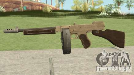 Edinburgh Gusenburg Sweeper GTA V (Army) V1 для GTA San Andreas
