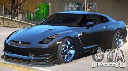 Nissan GT-R R35 V1 для GTA 4