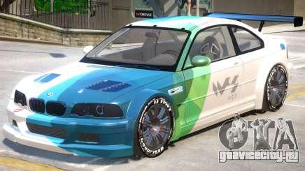 BMW M3 GTR PJ2 для GTA 4