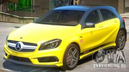 Mersedes Benz A45 PJ1 для GTA 4