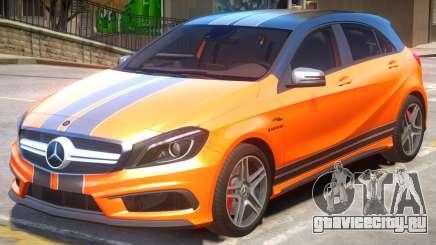 Mersedes-Benz AMG A45 PJ2 для GTA 4