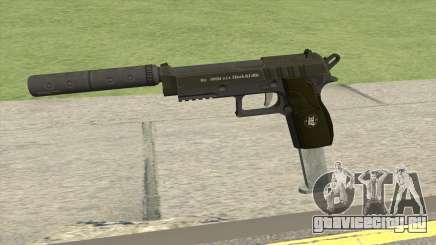 Hawk And Little Pistol GTA V (Green) V7 для GTA San Andreas