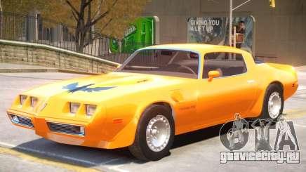 Pontiac TransAm Turbo для GTA 4