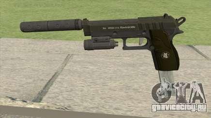 Hawk And Little Pistol GTA V (Green) V3 для GTA San Andreas