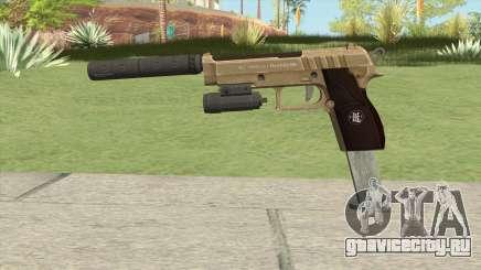 Hawk And Little Pistol GTA V (Army) V3 для GTA San Andreas