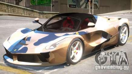 Ferrari LaFerrari V2 PJ для GTA 4