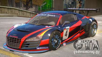 Audi R8 GT-S V1 PJ3 для GTA 4