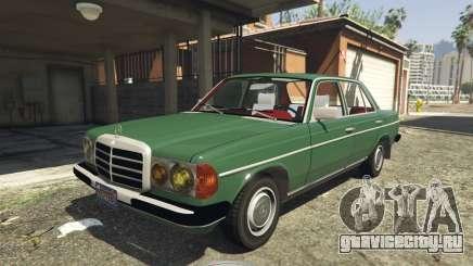 Mercedes-Benz 230 W123 1978 v2.0 для GTA 5