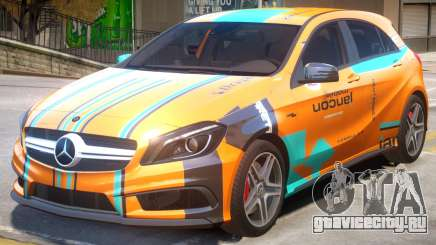 Mersedes-Benz AMG A45 PJ4 для GTA 4