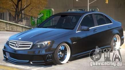 Mercedes Benz C63 Upd для GTA 4