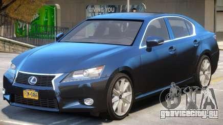 Lexus GS300H для GTA 4