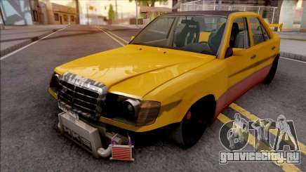 Mercedes-Benz W124 Custom Turbo для GTA San Andreas